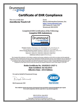 EHR-Compliant & Meaningful Use 2 Certified - Plexus Technology Group
